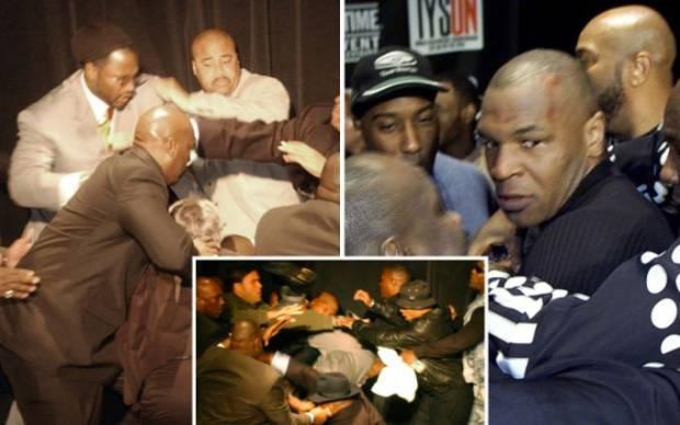 Tawuran Mike Tyson dan Lennox Lewis Yang Menggegerkan Jagat Tinju