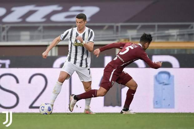 Gol Ronaldo Gagal Bawa Juventus Menang
