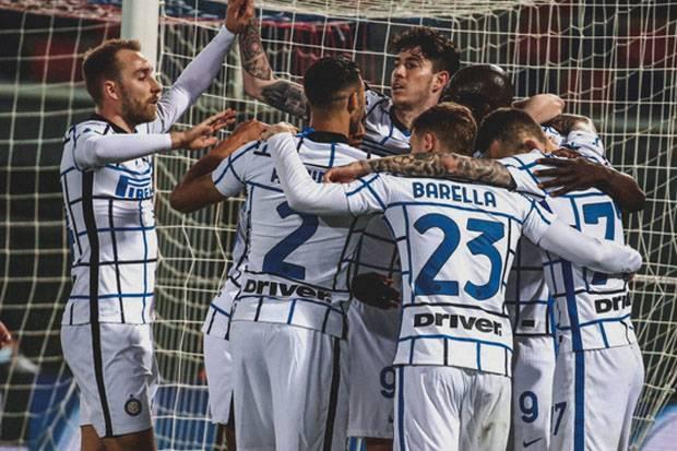 Inter Cium Aroma Scudetto Usai Tekuk Bologna, Conte: Kami Bisa Sampai di Sana!