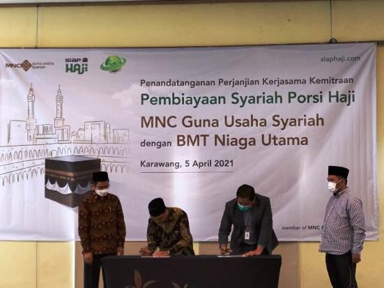 BCAP SIAP Permudah Pembiayaan Haji, BCAP Jalin Kemitraan Program SIAP HAJI dengan BMT Niaga Utama