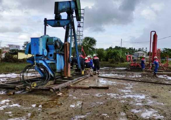 Pertamina EP Tarakan Hentikan Semburan di Sumur Minyak PAM-235