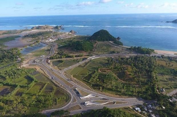 ITDC mencatat, Penyertaan Modal Negara (PMN) Tahun Anggaran 2020 sebesar Rp500 miliar dipergunakan untuk mempercepat pembangunan kawasan pariwisata di Kawasan Ekonomi Khusus (KEK), The Mandalika. Foto/Dok