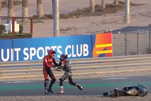 FIM Hukum Pembalap Indonesia Gresini Usai Adu Fisik di Moto3 Doha 2021
