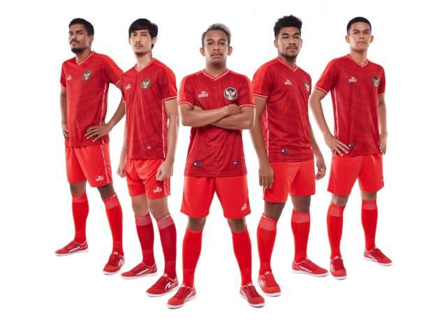 Keren! Begini Penampakan Jersey Kandang Timnas Futsal Indonesia Teranyar