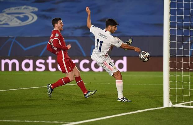 Babak I: Real Madrid Dua Kali Koyak Gawang Liverpool