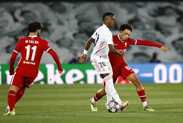 Brace Vinicius Jr Warnai Kemenangan Real Madrid atas Liverpool