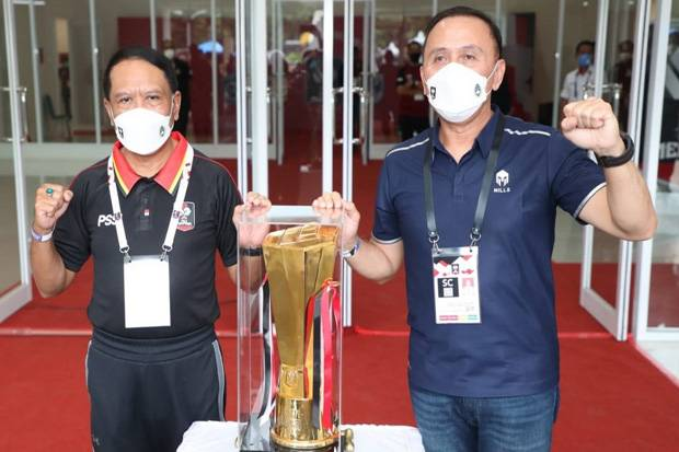 Zainudin Amali Berpesan Suporter Jaga Sikap Selama Piala Menpora 2021 Selesai