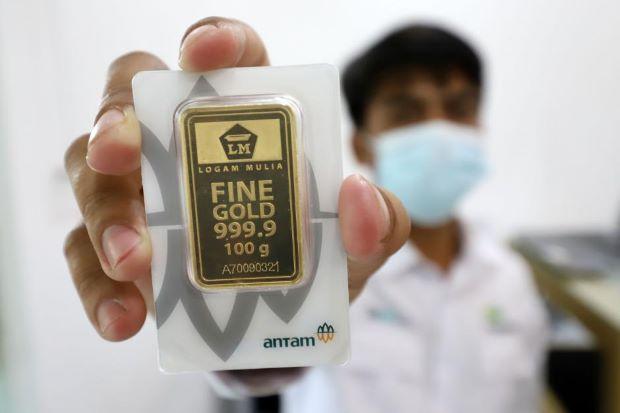 Silau Man! Antam Raup Rp19 Triliun dari Jualan Emas di 2020