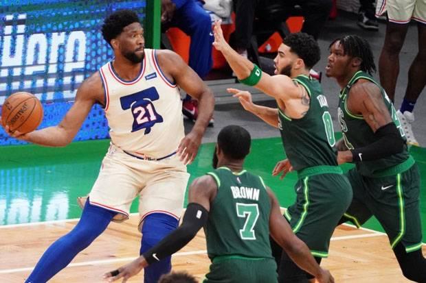 Hasil Lengkap Pertandingan NBA, Rabu (7/4/2021) WIB: Embiid Datang, Philadelphia Menang