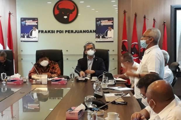Forum Pensiunan BUMN Nasabah Jiwasraya Mengadu ke Fraksi PDIP