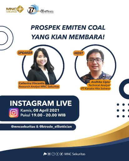 Prospek Emiten Batu Bara Kian Membara? Simak Instagram Live MNC Sekuritas Pukul 19.00 Malam Ini!