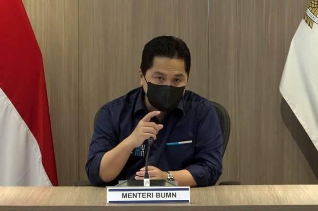 Erick Was-Was BUMN Punah, Berapa Sih Kontribusi Perusahaan Pelat Merah ke PDB RI?