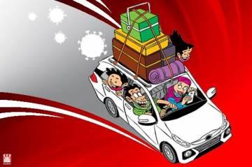 Nekat Mudik Pakai Mobil Pribadi, Siap-siap Kena Sanksi