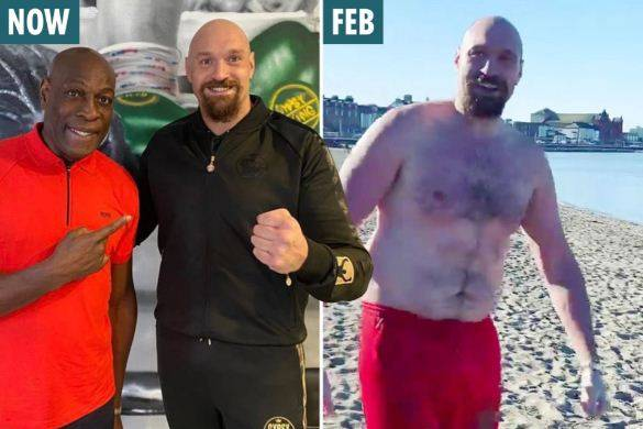 Tyson Fury Pamer Transformasi Tubuh Keren di Samping Frank Bruno