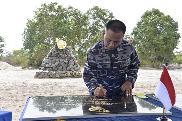 Dankormar Resmikan Pantai Todak, Riau Jadi Tempat Latihan Pendaratan Marinir
