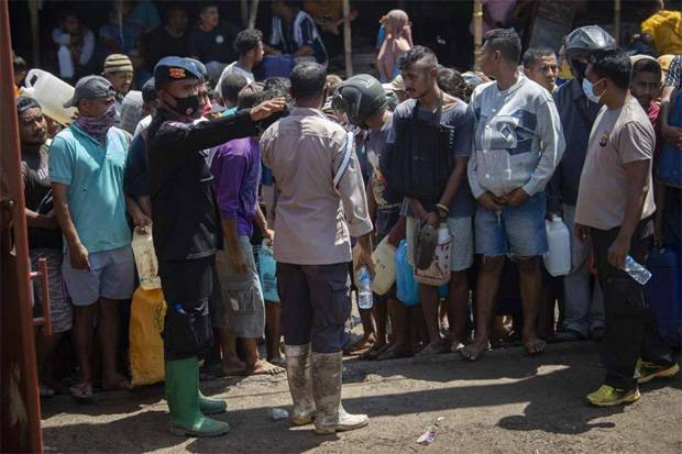 Jokowi Minta Pengungsi Taati Protokol Kesehatan