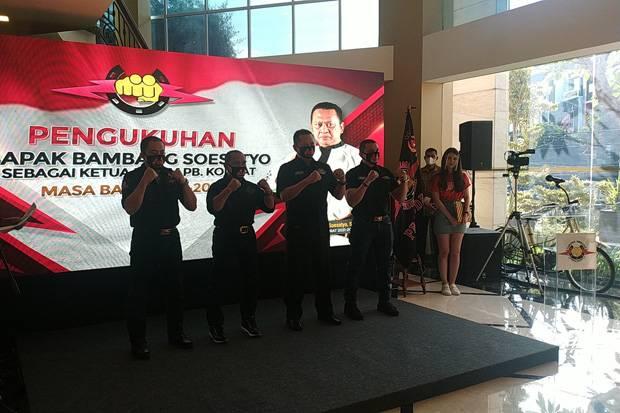 Bambang Soesatyo Resmi Jadi Ketua Umum Tarung Derajat Periode 2021-2025