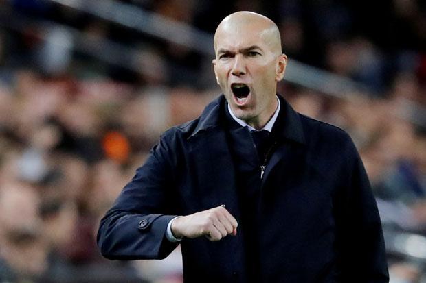 El Clasico Krusial dalam Perburuan Gelar, Zidane: Atletico Lebih Diuntungkan