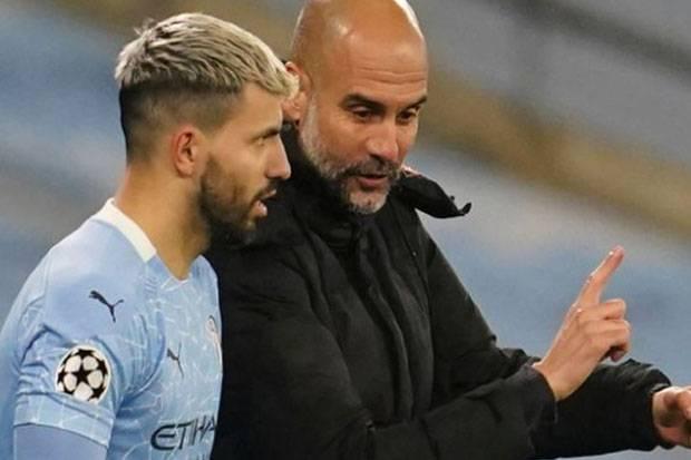 Man City Dukung Kiprah Aguero di Klub Rival Inggris