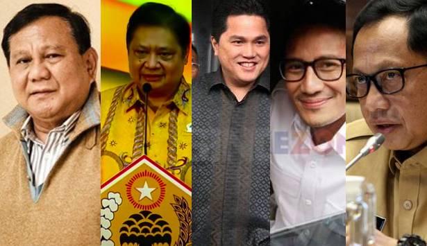 Tak Hanya Prabowo, Ini Anak Buah Jokowi yang Berpeluang Nyapres di 2024