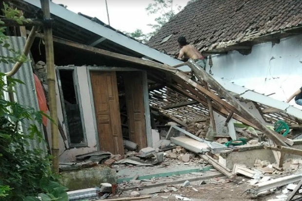 Bmkg Pastikan Gempa Bumi Di Malang Tak Berpotensi Tsunami