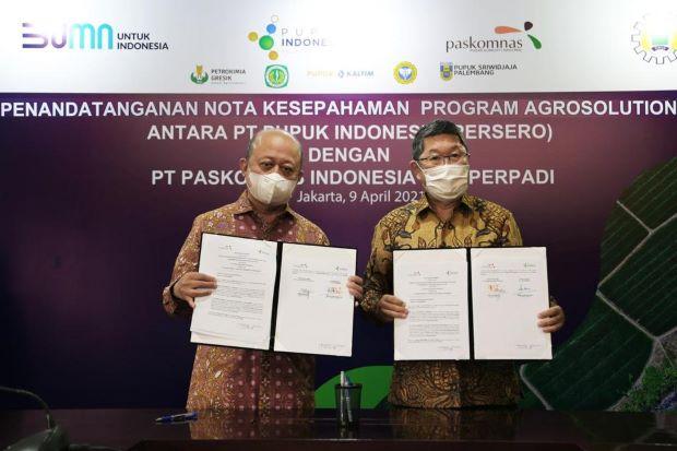 Perluas Program Agro Solution, Pupuk Indonesia Gandeng Perpadi dan Paskomnas