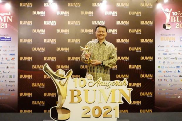Konsisten Terapkan Transformasi Digital, Peruri Raih Anugerah BUMN 2021