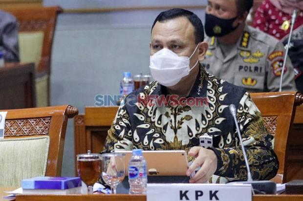 Ketua KPK Lantik 6 Penyidik dan 2 Penyelidik Baru, Semuanya Polisi
