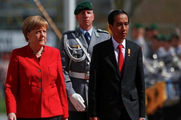 Di Depan Angela Merkel, Jokowi Beberkan Tantangan Pengembangan Industri 4.0