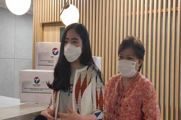 Partai Perindo Salurkan Bantuan Sembako Kepada Korban Banjir Bandang di NTT