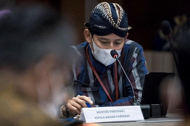 Diskusi dengan Para Pemimpin Daerah di Sumbar, Sandiaga Uno Titip Digitalisasi Sektor Parekraf Sumatera Barat
