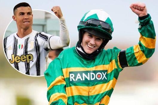 Rachel Blackmore, Cristiano Ronaldo dari Pacuan kuda