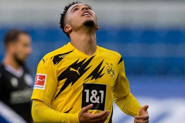 Jelang Borussia Dortmund vs Man City; Jadon Sancho Batal Reuni