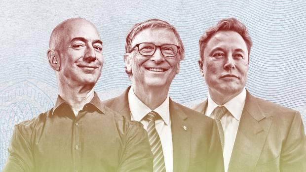 Gokil Parah! 8 Orang Terkaya Dunia Hartanya Tembus USD1 Triliun