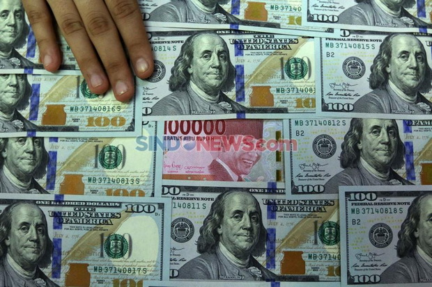 Nilai Tukar Rupiah Terhadap Dolar AS Cuma Merayap Tipis
