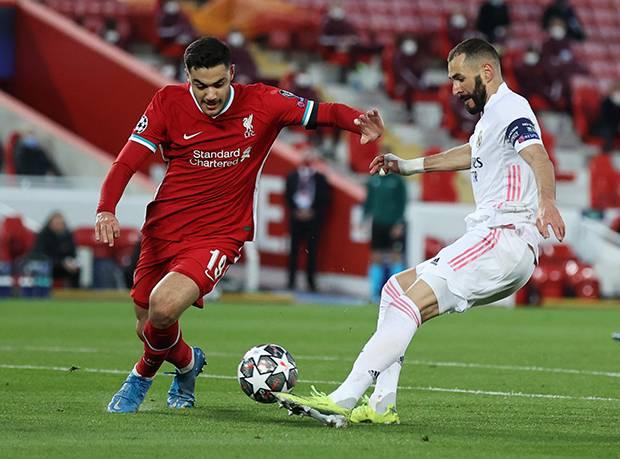 Babak I: Pertahanan Real Madrid Bikin Penyerang Liverpool Frustrasi