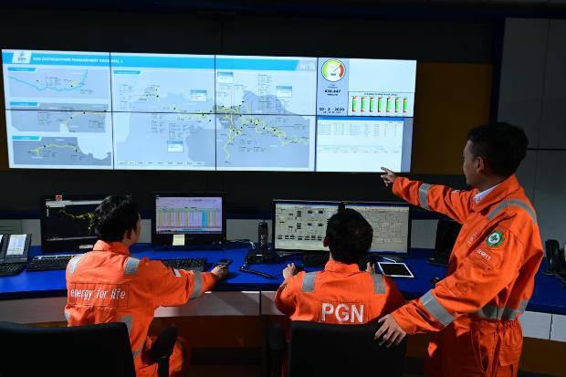Upaya Jaga Kinerja, Realisasi Penjualan Gas Bumi PGN Awal 2021 Melebihi Target