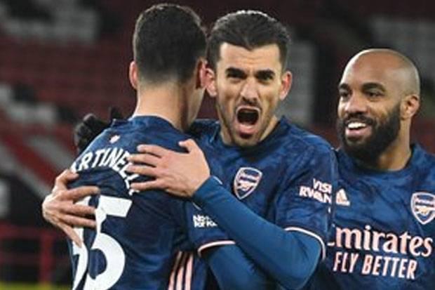 Susunan Pemain Slavia Praha vs Arsenal: Lacazette Jadi Tumpuan