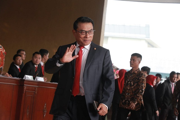 Pergantian Moeldoko Dinilai Belum Terdeteksi di Isu Reshuffle Kabinet