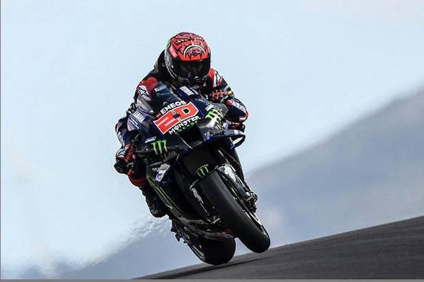 Hasil FP3 MotoGP Portugal: Quartararo Tercepat, Jorge Martin Alami Kecelakaan