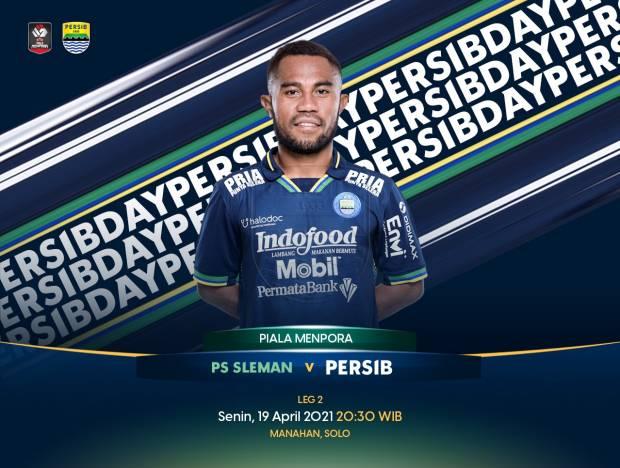 Hadapi PS Sleman, Persib Bandung Punya Kenangan Manis di Manahan