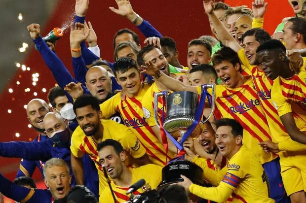 Bantu Juarai Copa del Rey, Barcelona Belum Juga Tawarkan Messi Kontrak Baru