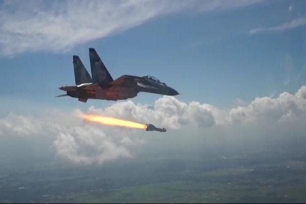 KSAU Apresiasi Uji Tembak Rudal Canggih KH-29TE Buatan Rusia