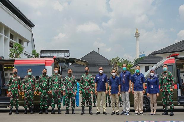 TNI AD Terima 2 Unit Ambulance Mini ICU untuk Penanganan Pandemi Covid-19