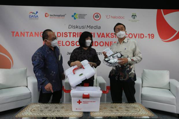Technoplast Dukung Distribusi Vaksin Covid-19