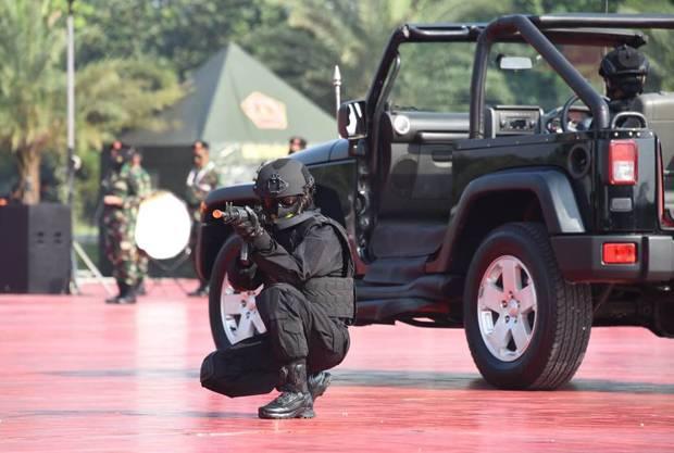 Wanita TNI Harus Terus Membina Diri dan Meningkatkan Kemampuan