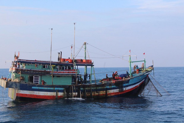 Cegah Kebanyakan Tangkap, KKP Amankan Dua Kapal Ikan