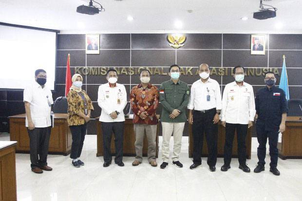 BAP DPD RI dan Komnas HAM Bahas Penanganan Akibat Penambangan Timah Kabupaten Bangka
