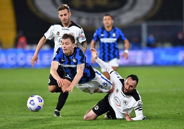 Inter Milan Gagal Menang di Kandang Spezia