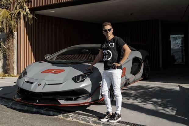 Lorenzo Kena Perangkap, Lamborghini Seharga Rp8 Miliar Dibawa Kabur